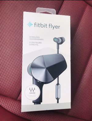 BNIB FitBit Flyer Bluetooth earbuds for Sale in Colorado Springs, CO