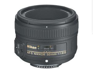 Nikon 50mm 1.8 for Sale in Leesburg, VA