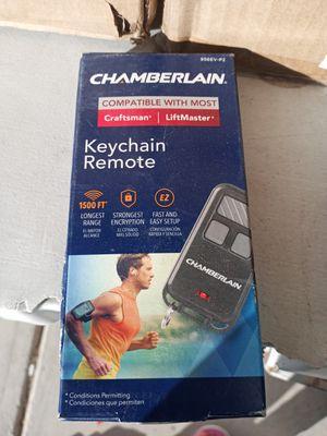 Chamberlain Craftsman Liftmaster Universal 956EV-P2 Garage Door Opener Keychain Remote Control for Sale in Las Vegas, NV
