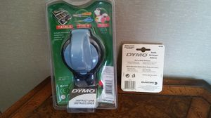 DYMO EMBOSSING LABEL MAKER & 5PK REFILL for Sale in Creve Coeur, IL