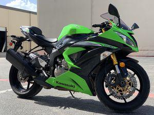2013 Kawasaki zx6r -Mint Motorcycles Dallas, Tx for Sale in Dallas, TX