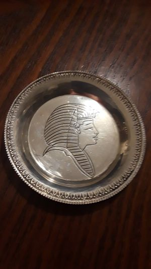 """Gorgeous Sterling Silver 925 miniature decorative saucer. 3"""" diameter. for Sale in New York, NY"""