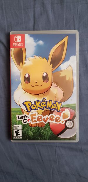 Nintendo Switch Pokemon Let's go Eevee for $35 for Sale in Las Vegas, NV