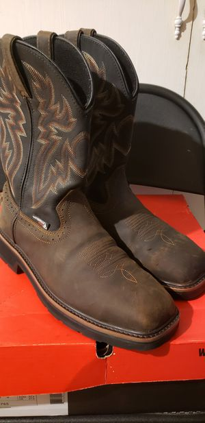 Wolverine steel toe work boots for Sale in Houston, TX