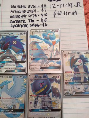 Pokemon shinys for Sale in Crystal City, MO