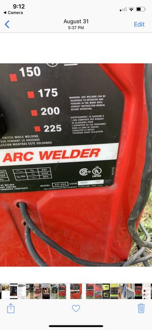 Lincoln welder AC 225 for Sale in Princeton, NJ