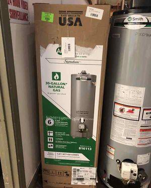30 Gallon Water Heater 🙈✔️⚡️⏰🍂🔥😀🙈✔️⏰🍂🔥😀🙈✔️⏰⏰🍂 Liquidation!!!!!!!!!!!!!!!!!!!!!!!!!!!!!!! 9B1 for Sale in El Paso, TX