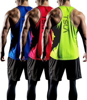 TSLA 3 Pack Fit Y-Back Muscle Workout Tops for Sale in Stratford, CT
