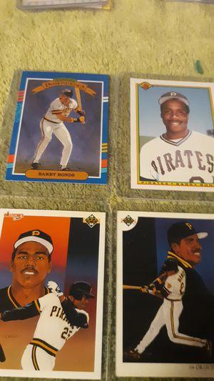 Lot of 4 Barry Bonds baseball cards for Sale in Berwyn, IL