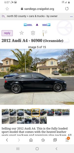 2012 Audi A4 for Sale in Oceanside, CA