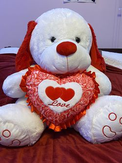 "24"" Valentine's Day Bear.. Needs to Go for Sale in Queens,  NY"