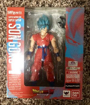 Dragonball z SH Figuarts ssgss Goku for Sale in Kent, WA
