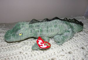 """TY Beanie Baby Alligator Swampy New w/tag .9 1/2"""" .. smoke free I have many new stuffed or plush toys all ready for the holidays. Come check them ou for Sale, used for sale  Bristol, PA"""