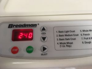 Breadman Automatic Bread Maker for Sale in Wake Forest, NC