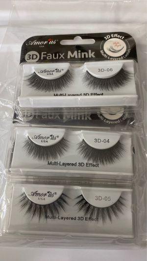 Eyelashes •read description • for Sale in Fontana, CA