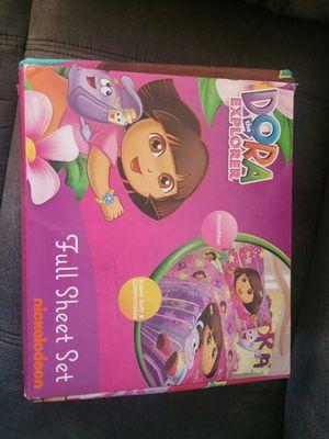 Dora full size sheet set for Sale in OH, US