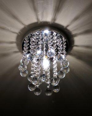 NEW Mini Crystal Chandelier Modern Style Ceiling Light Perfect Decor For Hallway Bathroom Kids Room for Sale in Randolph, NJ