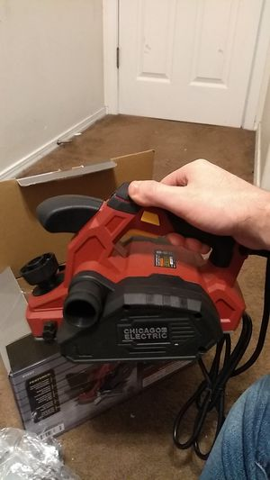 Chicago Electric Power Tool Electric Planer for Sale in Wood Village, OR