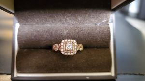 14k Rose Gold 1ct Vera Wang Engagement Ring for Sale in Charlotte, NC