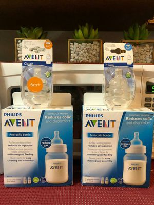 New ~AVENT bottles and nipples 😊 for Sale in Everett, WA