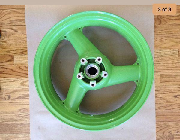 Kawasaki ninja zx750 rear wheel