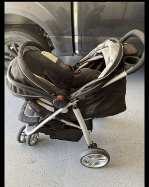 Stroller+ car seat + base for Sale in Atwater, CA