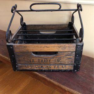 Vintage Dairy Crate for Sale in Newport News, VA