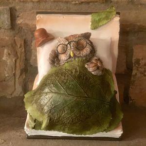 Owl Garden Statue Decor Light - New in Box - Plow & Hearth for Sale in Fairfax, VA
