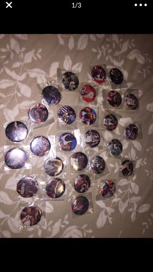 Sports buttons 28. for Sale in Escalon, CA