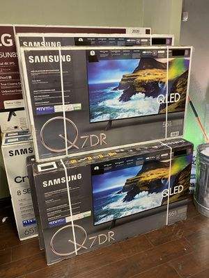 55 INCH SAMSUNG QLED Q7 q70R BRAND NEW HUGE SALE TVS 2019 ! for Sale in Burbank, CA