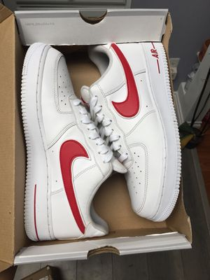 Nike Air Force 1 size 10.5 gym red OG box 100$ Vnds for Sale in Federal Way, WA
