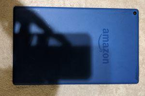 Kindle Fire HD 10 Blue w/ Case for Sale in St. Petersburg, FL