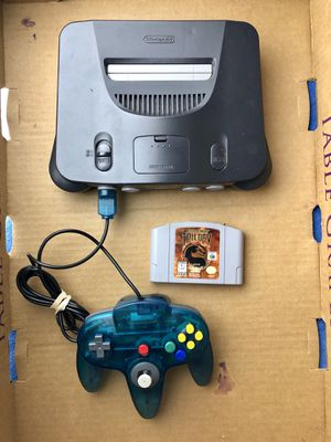 Nintendo 64 with 11 Games + 2 Controllers. { Read More Bellow }. for Sale in North Lauderdale, FL