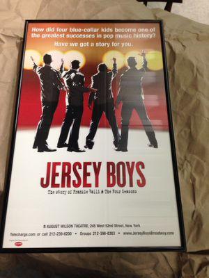 Jersey boys framed poster for Sale in Fort Lauderdale, FL