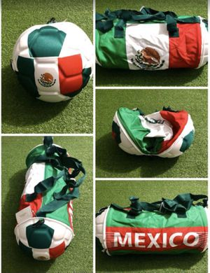 Mexico soccer duffle bag ball.New for Sale in Miami, FL
