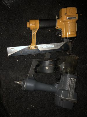 Stanley stapler and craftsman nail gun for Sale in San Diego, CA