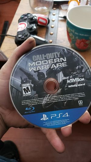 Call of duty modern warfare. Just the disk. No case for Sale in Las Vegas, NV