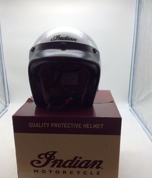 Indian retro motorcycle helmets all small besides the gloss silver its a large for Sale in Glendale, AZ