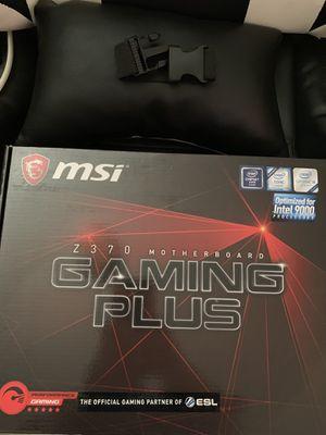 MSI Z370 Gaming Plus Motherboard for Sale in Lake Elsinore, CA