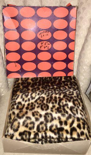 Vintage NIB 1960s??? Leopard skin for Sale in Memphis, TN