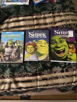 Shrek movies for Sale in Stockton, CA