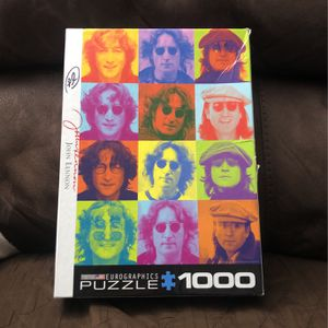 John Lennon 1000 Piece Puzzle By Eurographics for Sale in South San Francisco, CA