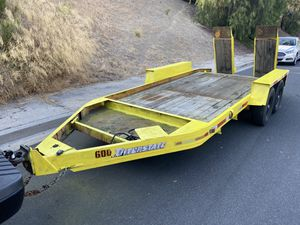 1998 Interstate Equipment Utility Trailer auto car bobcat heavy duty for Sale in El Cajon, CA