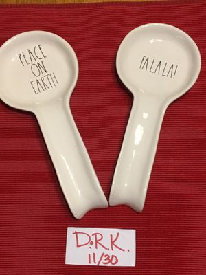 Ra Dunn Christmas Spoon rests for Sale in Traverse City, MI