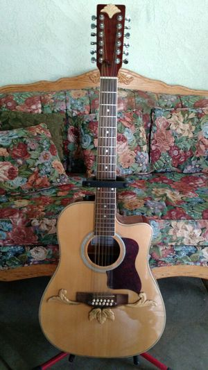Fiver Handcrafted 12 strings acoustic electric guitar for Sale in AR, US