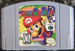 Mario Party Nintendo 64 N64 for Sale in Stockton, CA