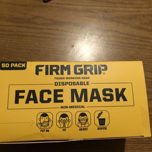Firm Grip Disposable Face Mask 50 Piece for Sale in Rockville, MD