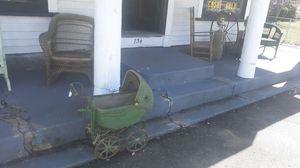 Antique baby doll carriage for Sale in East Bridgewater, MA