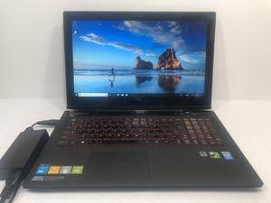 Lenovo Y50-70 Intel Core i7 Touchscreen Laptop 8GB RAM 256GB SSD Nvidia 860M Windows 10 for Sale in Grand Prairie, TX