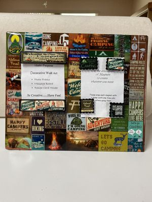 """Camping Lovers- 10""""x12"""" for Sale in Port St. Lucie, FL"""